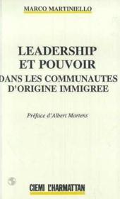 Leadership et pouvoir dans les communautés d'origine immigrée - Couverture - Format classique
