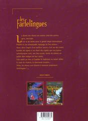 Les farfelingues t.3 ; les vignes de Lempereur - 4ème de couverture - Format classique