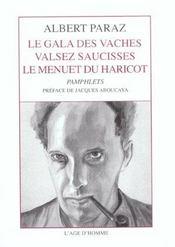 Gala Des Vaches , Valsez Saucisses , Le Menuet Du Haricot (Le) - Intérieur - Format classique
