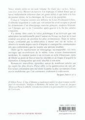 Gala Des Vaches , Valsez Saucisses , Le Menuet Du Haricot (Le) - 4ème de couverture - Format classique