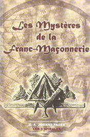 Les mystères de la Franc-Maçonnerie - Intérieur - Format classique