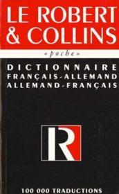 Dictionnaire Poche Bilingue Allemand - Couverture - Format classique