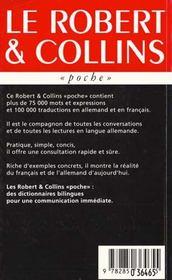 Dictionnaire Poche Bilingue Allemand - 4ème de couverture - Format classique