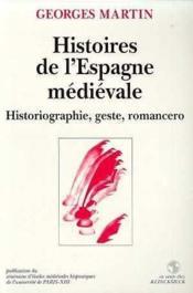 Histoires de l'espagne medievale/clhm an - Couverture - Format classique