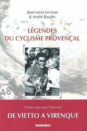 Legendes du cyclisme provencal - Intérieur - Format classique