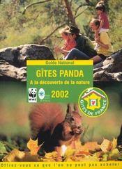 Gites Panda ; Edition 2002 - Intérieur - Format classique