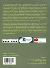 Du potager de survie au jardin solitaire - 4ème de couverture - Format classique