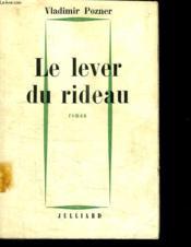 Le Lever Du Rideau. - Couverture - Format classique