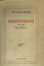 Correspondance. 1899-1926. - Couverture - Format classique