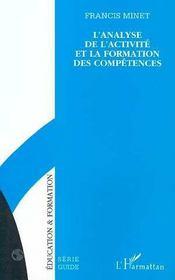 L'Analyse De L'Activite Et De La Formation Des Competences - Intérieur - Format classique