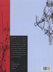 Shane t.2 ; le pic de l'aigle - 4ème de couverture - Format classique