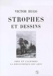 Strophes et dessins - Couverture - Format classique