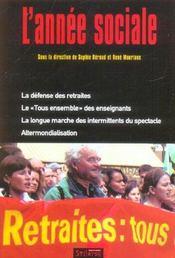 L'Annee Sociale 2003-2004 - Intérieur - Format classique