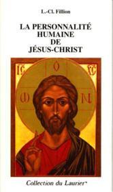 La personnalite humaine de jesus-christ - Couverture - Format classique