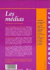 Medias 2000 - 4ème de couverture - Format classique