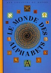 Le monde des alphabets - Intérieur - Format classique