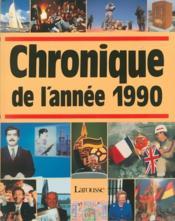 Chronique de l'année 1990 - Couverture - Format classique
