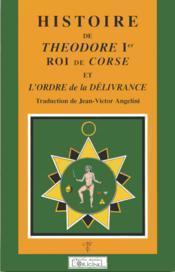 Histoire de théodore 1er roi de corse - Couverture - Format classique