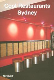 Sydney cool restaurants - Couverture - Format classique