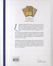 Reines et favorites de France - 4ème de couverture - Format classique
