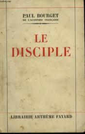 Le Disciple. - Couverture - Format classique