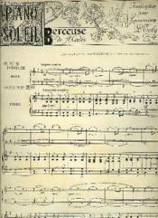 Piano Soleil 25 Fevrier 1894, N°8 - Couverture - Format classique