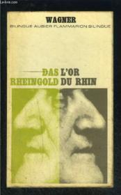 L Or Du Rhin- Collection Bilingue Aubier N°10 - Couverture - Format classique