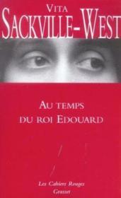 Au temps du roi edouard - Couverture - Format classique