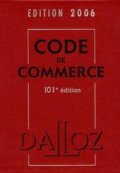 Code De Commerce (Edition 2006) - Intérieur - Format classique