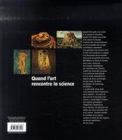 Quand l'Art rencontre la science - 4ème de couverture - Format classique