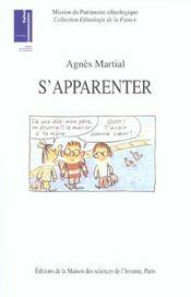S'Apparenter ; Ethnologie Des Liens De Familles Recomposees - Intérieur - Format classique