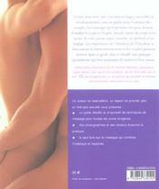 Massage secrets pour les amants - 4ème de couverture - Format classique