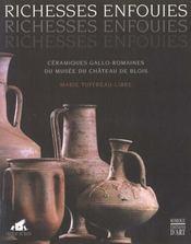 Richesses Enfouies ; Ceramiques Gallo-Romaines Du Musee De Blois - Intérieur - Format classique