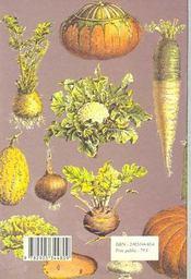 Belle jardiniere (la) - 4ème de couverture - Format classique