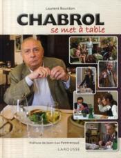Chabrol se met à table - Couverture - Format classique
