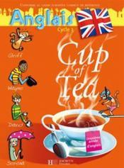 CUP OF TEA ; anglais ; CM1 ; cylce 3 ; double cd audio de la classe - Couverture - Format classique