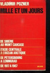 Mille Et Un Jours. - Couverture - Format classique