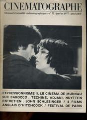 CINEMATOGRAPHE N°23 - Expressionnisme II - Couverture - Format classique