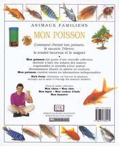 Mon poisson - 4ème de couverture - Format classique