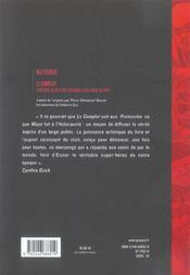 Le complot ; l'histoire secrète des protocoles des sages de Sion - 4ème de couverture - Format classique