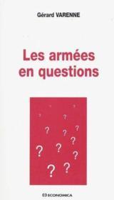 Les Armees En Question - Couverture - Format classique