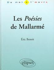Les Poesies De Mallarme - Intérieur - Format classique