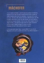 Machefer t.3 ; les 24 heures du monde - 4ème de couverture - Format classique