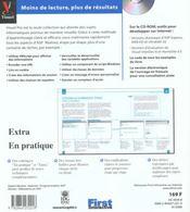 Visuel Pro Active Server Pages 3.0 - 4ème de couverture - Format classique