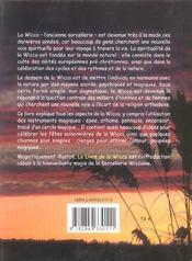 Livre de la wicca (le) - 4ème de couverture - Format classique