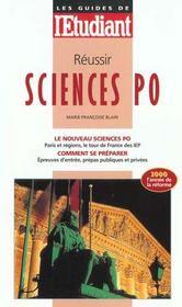 Reussir Sciences Po - Intérieur - Format classique