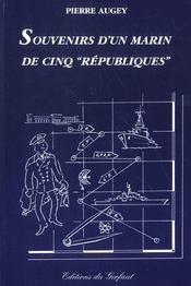 Souvenirs d'un marin de 5 républiques - Intérieur - Format classique