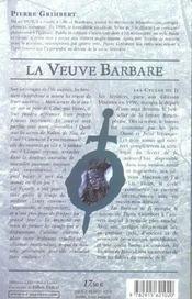 Veuve barbare (la)- enfants de ji t2 - Intérieur - Format classique