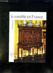 Le Meuble En France. - Couverture - Format classique