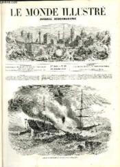 LE MONDE ILLUSTRE N°80 Incendie en pleine mer du steamer l'Austria - Couverture - Format classique